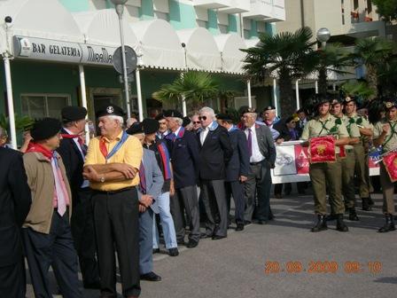 XX Raduno Nazionale Carristi a Bibione
