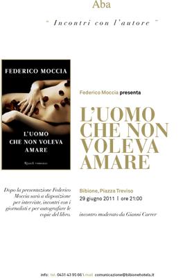 Incontri con l'autore - Federico Moccia