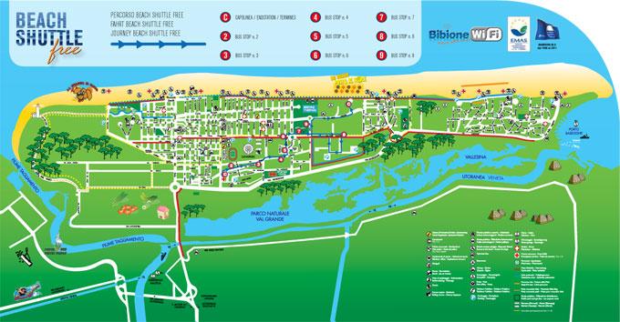 mappa Shuttle Beach Free