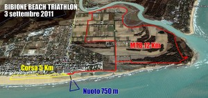 Bibione Beach Triathlon 2011