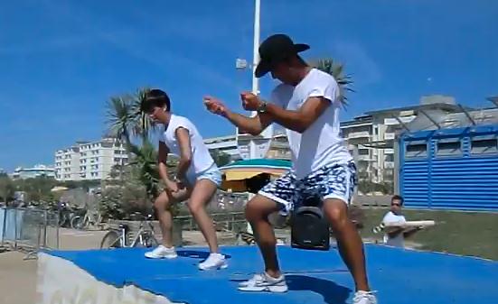 Estate 2011, animazione in spiaggia a Bibione