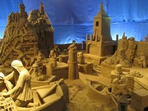 Lignano d'A mare, il presepe di sabbia