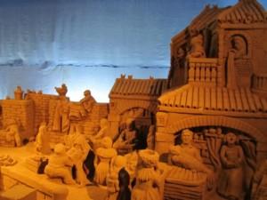 Lignano d'A mare 2011, il presepe di sabbia