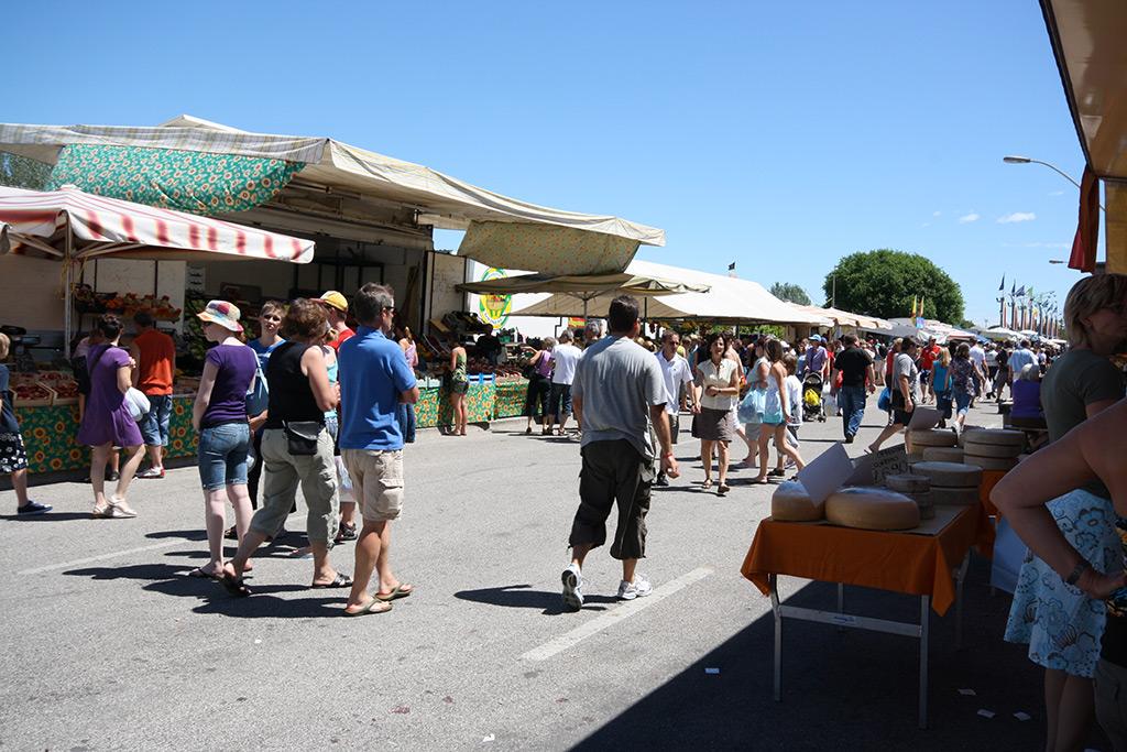 Mercato a Bibione