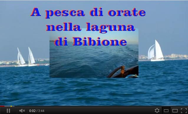 Video pesca in laguna a Bibione