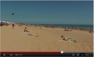 Video YouTube spiaggia