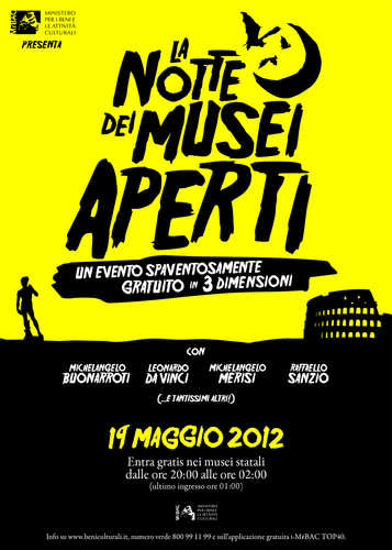 La Notte dei Musei 2012