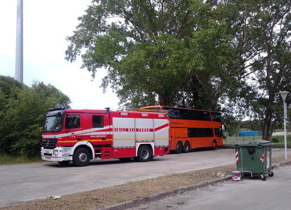 Incendio in Via Stella a Bibione