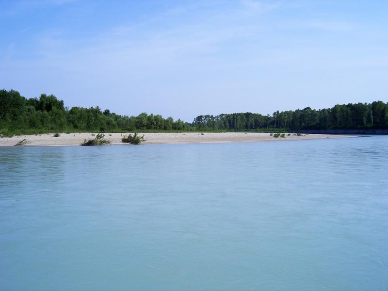 Il fiume Tagliamento