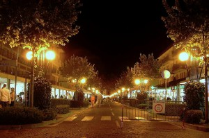Bibione by night