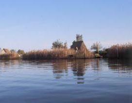 Casoni nella laguna di Caorle