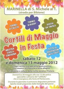 Cortili di Maggio in Festa, Marinella