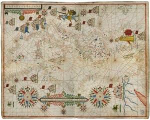 Portolani e carte nautiche a Venezia