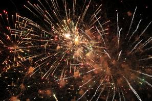 Fuochi d'artificio a Bibione