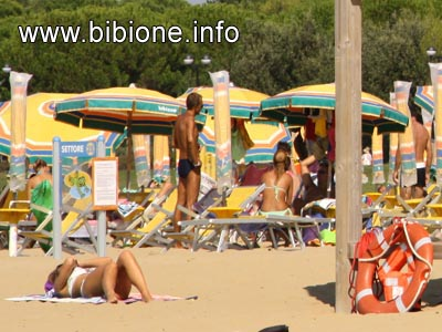 Bibione, la spiaggia