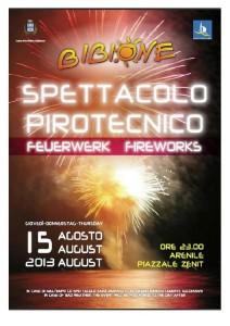 Spettacolo Pirotecnico Ferragosto 2013 Bibione