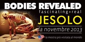 Mostra Bodies Revealed a Jesolo