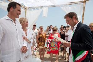 Matrimonio in Spiaggia a Bibione
