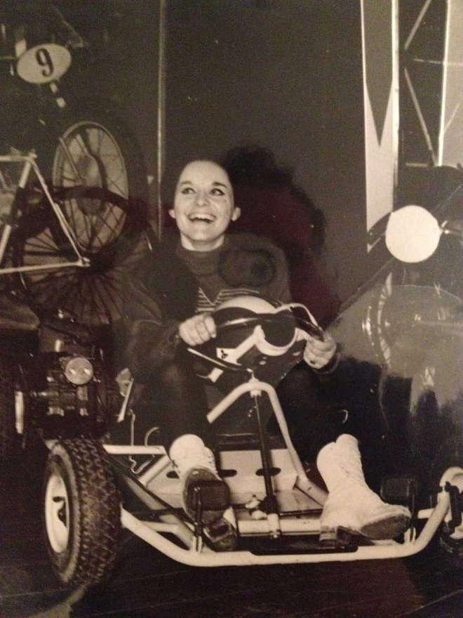 "Bruna Manfredini, ""regina del go kart"""