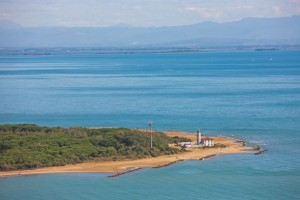 Bibione, il faro di Punta Tagliamento