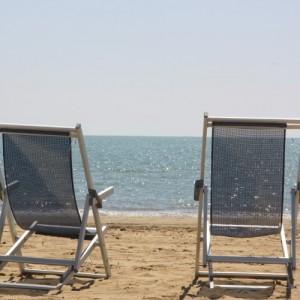 Bibione posto spiaggia con parcheggio gratuito