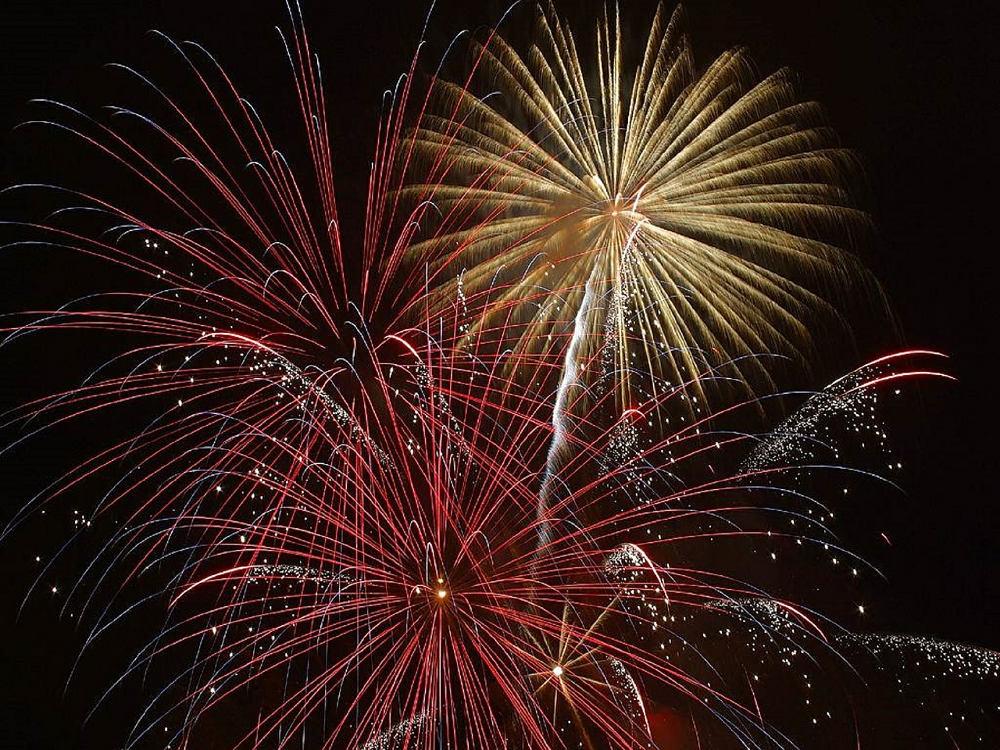 Fuochi d'artificio - estate 2017