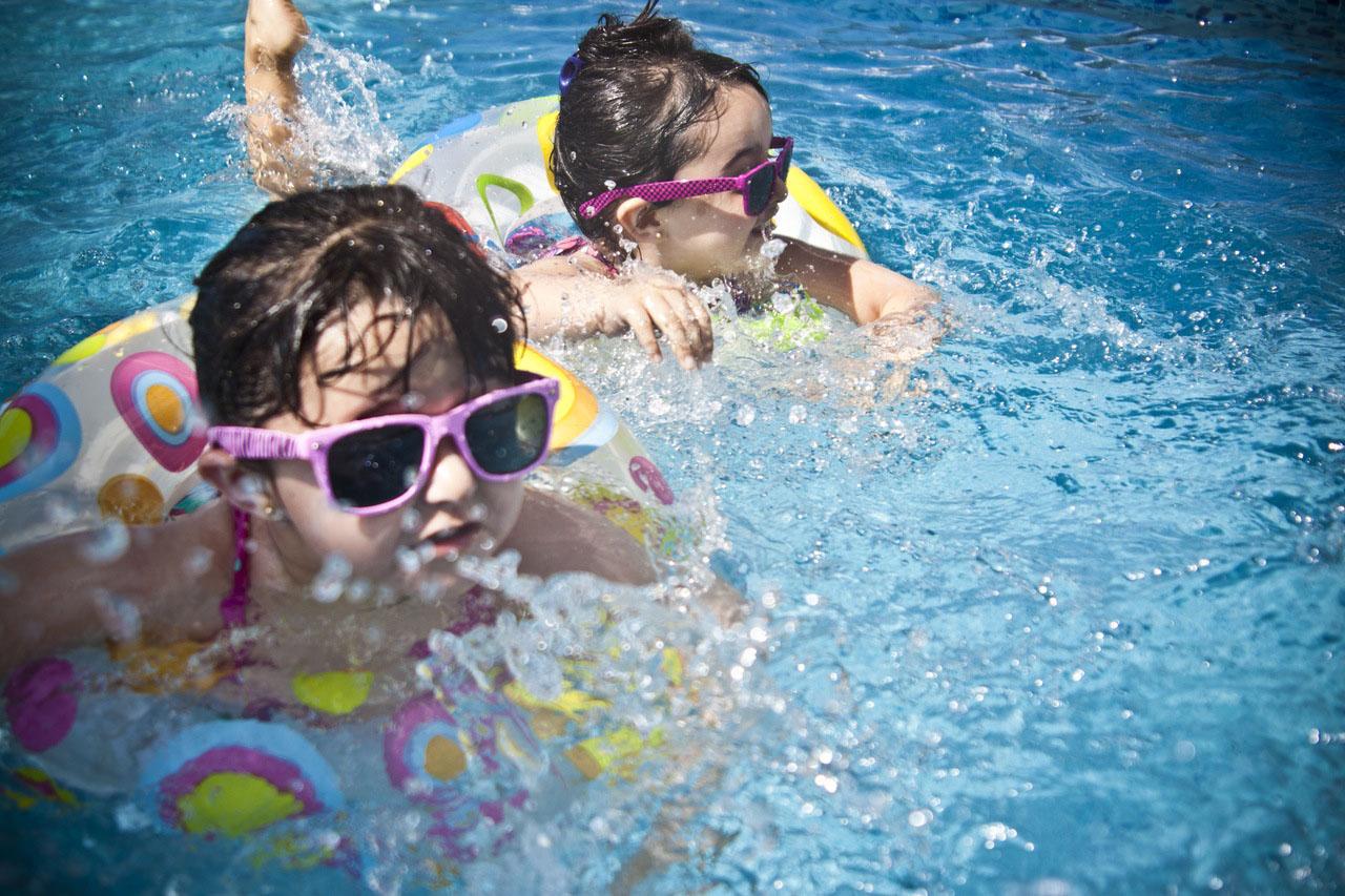 La famiglia in vacanza a Bibione