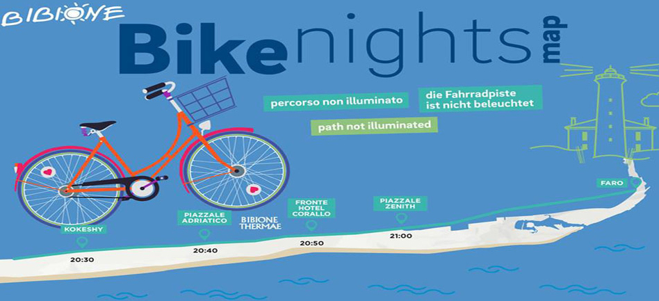 bike nights bibione