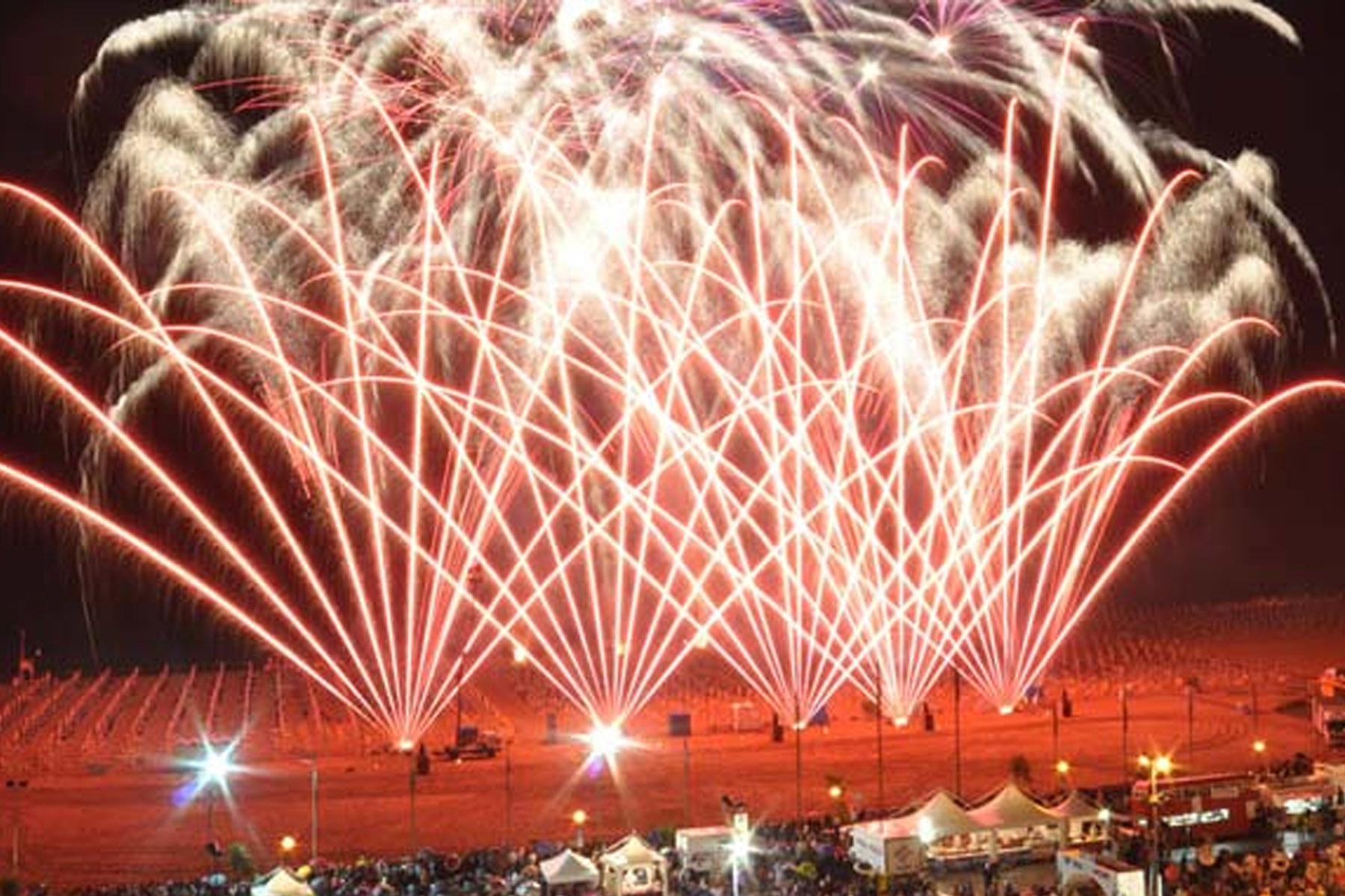 Fuochi artificio Bibione