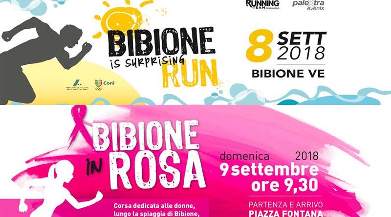 Bibione is surprising Run e Bibione in Rosa 2018