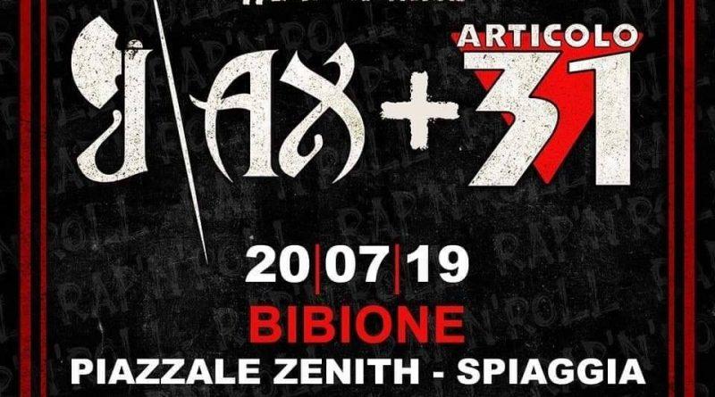 Articolo 31 + J-ax Bibione 2019